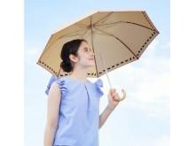 猫とおでかけ!晴雨兼用の折り畳み傘「ニャンブレラ」