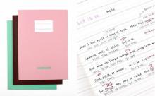 語学を勉強中の方必携!上下にメモや訳が書き込める「ランゲージ・ノート」が秀逸☆