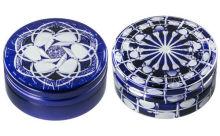 スチームクリーム×江戸切子がコラボ♪アルミ缶に再現された藍色の文様にうっとりしそう♡