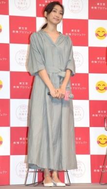 杏、第3子妊娠公表後初の公の場 子育てトークで母の顔「笑顔もらっています」