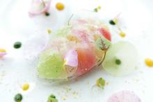 ミシュラン二ツ星シェフ、フィリップ・ミル氏が日本初出店!絵画のような美しすぎる料理を味わってきた♡