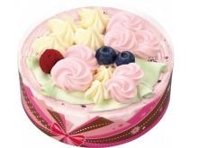 パーティーシーンを彩る華やかなアイスクリームケーキ新登場