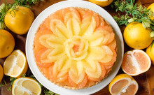 花モチーフの装飾が美しい♡キル フェ ボンの母の日限定タルトはグレープフルーツ×アールグレイ