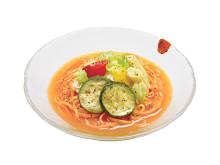 ミスド×ソラノイロ!麺もスープも野菜が主役「ベジ涼風麺」