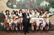 SKE48、あいち広報大使続投 大村県知事にキャッチフレーズ作りを提案