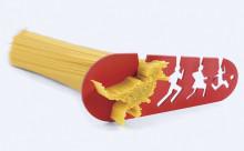 これはカワイイ♡食べたいパスタの量を4段階から選べる計量器