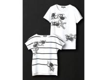日本の伝統美を纏う!狂言装束の柄がモチーフのTシャツ