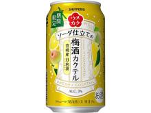 初夏にぴったり!宮崎産日向夏を使用した梅酒カクテル