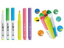 人気の筆記具BLOXに「カラー筆ペン 蛍光」など仲間入り!