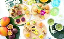 トロピカルフルーツがたっぷり♪夏らしいカラフルなアフタヌーンティーでリフレッシュ!