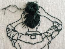 普通がかわいい。女子の毎日が刺繍になった