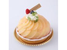 神戸発!みずみずしい桃のケーキで爽やか夏のティーターム