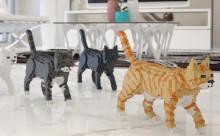 """猫好きさん必見!どこでもニャンコと一緒にいられる""""猫レゴ""""がカワイイ♡"""