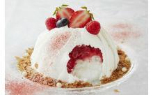 ハイブリッドな新食感♪ケーキみたいなかき氷「スノードームケーキ」でクールダウンしたい!