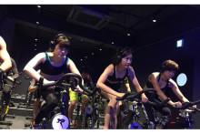 新感覚のサイクリングフィットネスジム、荻窪にオープン