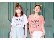 「ハードロックカフェ」×「ハローキティ」コラボTシャツ