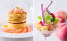 夏はやっぱり桃♡ホテルインターコンチネンタル東京ベイの桃のパンケーキ&パフェが食べたい♩