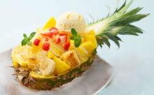 パイナップルの中にフレンチトーストが…!「アイボリッシュ」の期間限定メニューが見逃せない