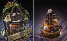 もはやアート級☆ハロウィンを表現した豪華ケーキがリーガロイヤルホテルに登場!