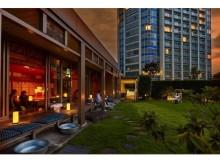 ホテル神殿内に夏の夕涼みが体験できるカフェがオープン