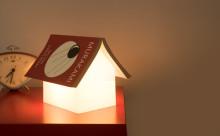 """読書好きの人におすすめ♩読みかけの本が""""屋根""""になるルームライトがかわいい"""