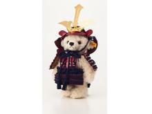 五月人形モデル、甲冑を着たテディベア「サムライ」登場