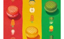 ミスド×タニタがコラボ☆カラフルで小さめの野菜ドーナツ「ベジポップ」が気になる♪