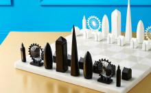 ロンドンを旅してる気分♩有名建築物を駒にしたチェスボードがオシャレ
