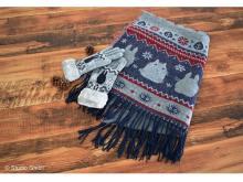 寒い冬もあったか。トトロとジジのストール&手袋