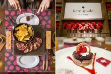 ケイト・スペードと神楽坂のビストロがコラボ!女子会にぴったりのフォトジェ料理を食べてきた♡