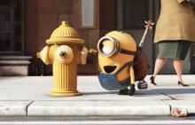 「怪盗グルーのミニオン大脱走」大ヒット記念!シルバーウィーク限定で上映劇場にてミニオンシールを配布!
