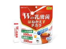 W乳酸菌の「はねかえす力」が元気をサポート!