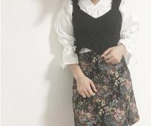 GUのゴブランスカートで作る冬先取りコーデ♡スタイルUP見えもにも期待大!