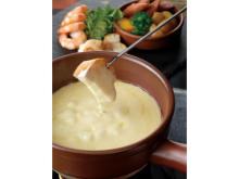 ホテルオークラ福岡で味わう熱々トロトロのチーズフォンデュ