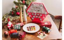 仕掛けが楽しいアドベントカレンダーも!アンリ・ルルーのクリスマス限定コレクションが華やか