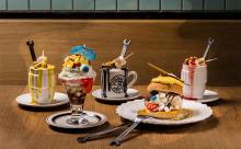 スイーツの妖怪がずらり!ディーゼルのカフェにインパクト大のハロウィンメニューが登場