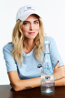「エビアン×キアラ フェラーニ」のデザイナーズボトルが発売!オシャレな限定ボトルをGetして☆