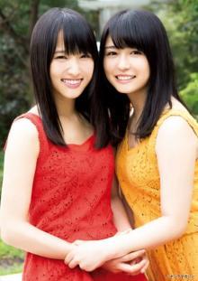 欅坂46・菅井友香&長濱ねる、秋の装いでキュートスマイル&麗しの美脚披露
