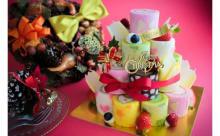 可愛くって食べやすいから好き♡「イリナ」のロールタワーケーキがクリスマス仕様で限定発売!
