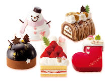 予約開始!「銀のぶどう」の可愛いサイズのクリスマスケーキ