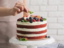 インスタにあげたくなる。無印良品の特大バウムで作るケーキがかわいくて迫力満点