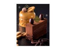 チョコ好き必見!ブロンドショコラとビターチョコのケーキ