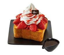ソルビンのあったかトースト♪日本初登場のいちごチョコ&モッツアレラトッポギが美味しそう♡