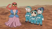 アニメ『忍たま乱太郎』、宇宙科学番組とのコラボ第3弾大みそか放送