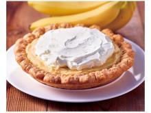 濃厚なバナナの甘みが最高!3層仕立ての特製パイが登場