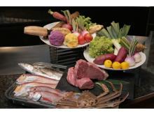 北陸3県の特選食材が五感を刺激するディナーコース!