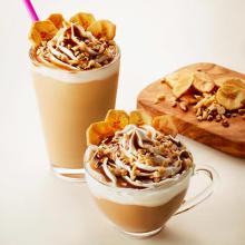 おやつ代わりに飲みたい♡タリーズの新作はバナナ&ナッツのカリカリ食感が楽しいソイラテ