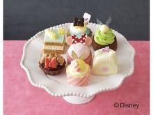 ディズニー・ガールズキャラクターのひなまつり限定プチケーキ