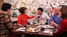 加賀まりこ、カミナリがロケ「本音でハシゴ酒」のお店紹介in大森