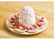 春らしくてキュート!Eggs 'n Things原宿店の8周年記念パンケーキ
